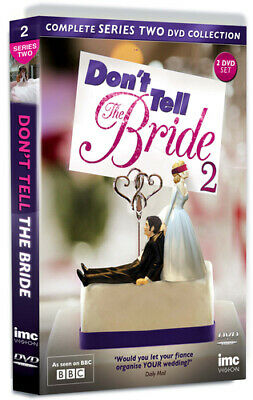 Don't Tell The Bride: Series 2 DVD (2013) Ruth Jones Cert E 2 Discs Great Value • 8.96£