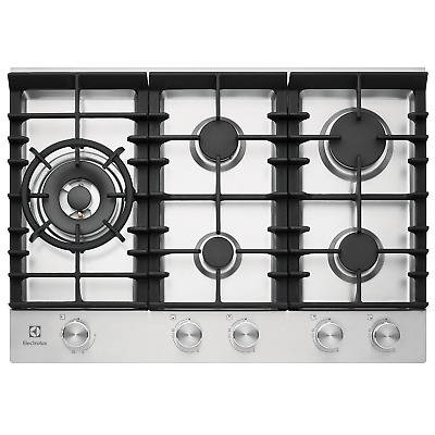 AU850 • Buy Electrolux EHG755SD 5 Burner Gas Cooktop With Front Controls