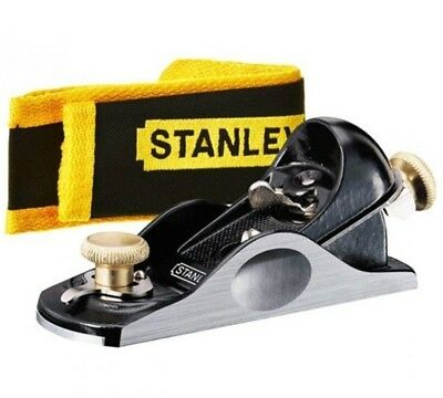 STANLEY Bailey 6 1/4  (160mm) Adjustable Block Plane 21° Angle + Pouch, 512020  • 36.95£