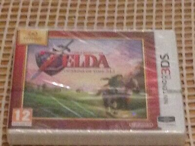 Nintendo Selects The Legend Of Zelda: Ocarina Of Time 3D Nintendo 3DS New Sealed • 21£