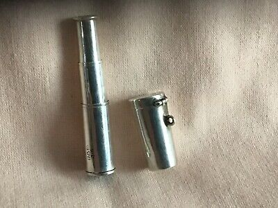 Antique Rare Silver Edwardian Expandable Cheroot & Case Date Stamp Chester 1903. • 99.99£