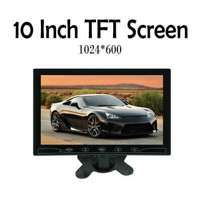 10.1  HD CCTV LCD Monitor PC Screen AV/RCA/VGA/HDMI/BNC Video Display W/ Speaker • 47.19£