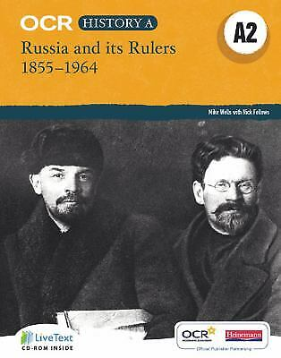 OCR A Level History A : Russia And Its Rulers 1855-1964 Mr Mike Wells • 12.33£