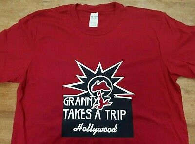 $ CDN25.97 • Buy Granny Takes A Trip Short Sleeve T-shirt Top Rare 70s 60s Vintage Style Sixties