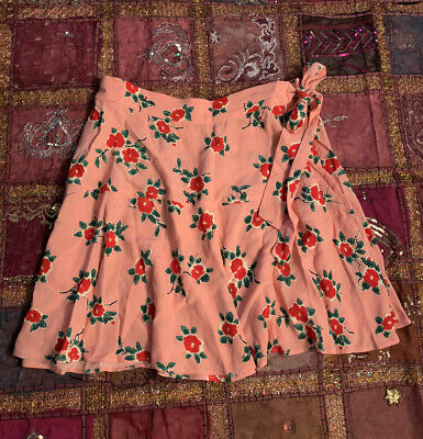 £12 • Buy Pink Skirt With Flower Pattern - 10