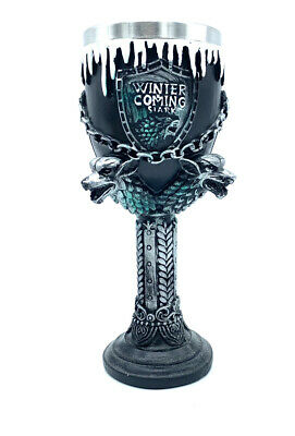 Game Of Thrones Goblet Decorative Winter Is Coming  Stainless Steel • 14.99£