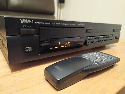 Yamaha CDX-890 CD Player, Full Working Order ,with Remote! RARE! • 99£