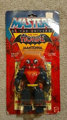 $179 • Buy MOTU, Mantenna, Masters Of The Universe, MOC, Carded, Figure, He Man, Sealed