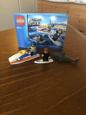 Lego 60011 City Surfer Rescue • 8£