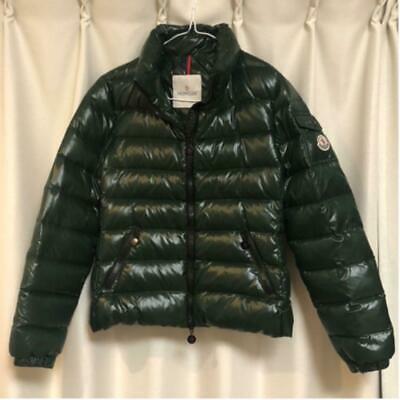 AU581.65 • Buy MONCLER Down Jacket Coat Size 0 Dark Green Womens Casual Outer Vintage Clothing