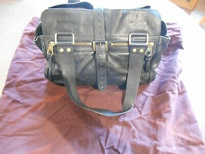 Mulberry Small Black Mabel Hand Bag 13 Inches. Good Used Condition With Dust Bag • 225£