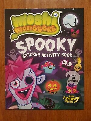 Spooky Sticker Activity Book (Moshi Monsters)  By Grosset And Dunlap 2014 • 20.01£