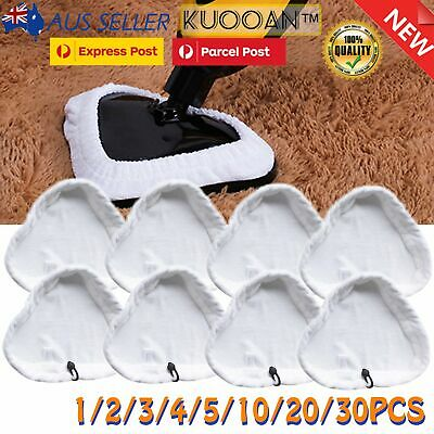 AU13.99 • Buy 3X/4X/5X/10X/20X Micro Fibre Steam For H2O Replacement Cleaner Washable Mop Pads