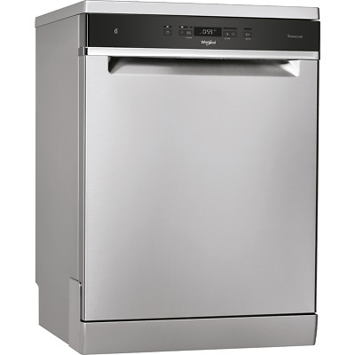 View Details Whirlpool WFC3C33PFXUK A+++ D Dishwasher Full Size 60cm 14 Place Stainless • 369.00£