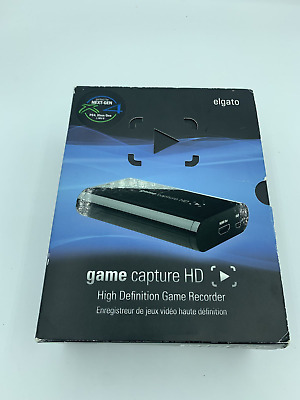 Elgato Systems Game Capture HD High 1080p Definition Game Recorder. PS4 XBOX ONE • 26.89£