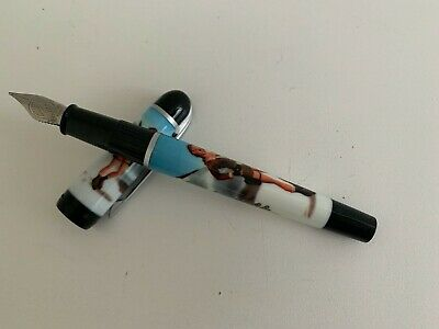 AUTHENTIC VINTAGE WATERMAN LARA CROFT TOMB RAIDER Fountain Pen : NEW • 10.50£