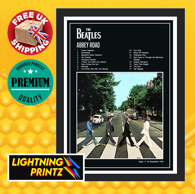 £6.50 • Buy The Beatles Abbey Road Album Cover Music Band Poster A4-A0