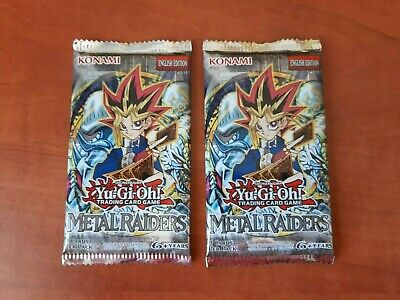 Yu-Gi-Oh! Booster Pack Metal Raiders English Factory Sealed • 31.11£