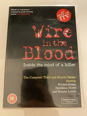 £3.69 • Buy Wire In The Blood - Series 3-4 - Complete DVD FAST DISPATCH UK
