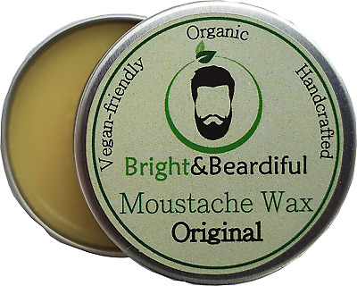 Unfragranced Original | Moustache Wax For Men | Strong Hold | Styling, Shaping, • 5.26£