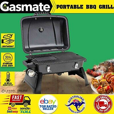 AU124.80 • Buy New Gasmate Portable Gas BBQ Grill LPG Outdoor Camping Barbecue Cooking Picnic