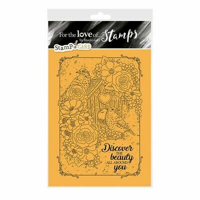 A HOME FOR TWO - For The Love Of Stamps Clear Stamp - Hunkydory • 5.99£