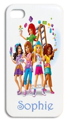 Personalised Lego Friends IPhone 4/4s & 5/5s & 5c & 6/6s 7 Hard Case • 3.99£