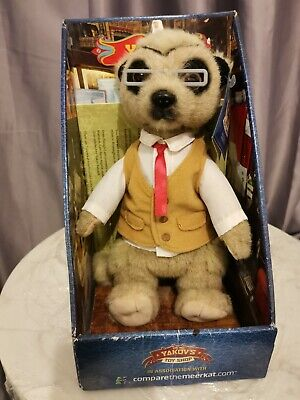 Compare The Meerkat Yakov Toy • 1£