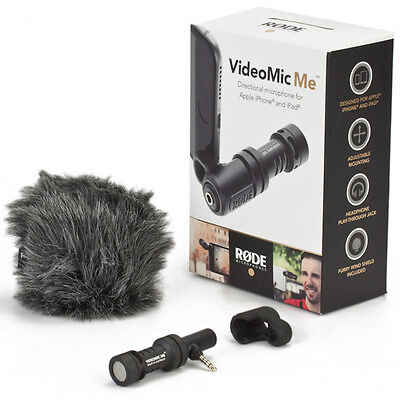 Rode VideoMic Me Microphone Directional Compact For Smartphone Black Anthracite • 33.58£