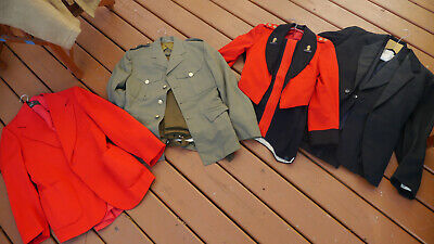 ORIGINAL WW2 BRITISH UNIFORMS JACKET TROUSERS EVENING MESS DRESS ROYAL ENGINEERs • 79£