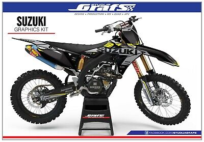 $139 • Buy Graphics Kit / SUZUKI / RM 125 / RM 250 / RM125 / RM250 / 1999 2000 / Decal / MX