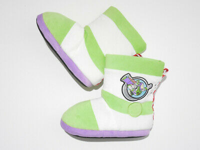 £21.79 • Buy Disney Toy Story Buzz Lightyear Kids Childrens Slippers Boots Shoes Size 13