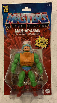 $24.75 • Buy Masters Of The Universe Origins Wlmart Man-At-Arms 5.5  Battle Action Figure NEW
