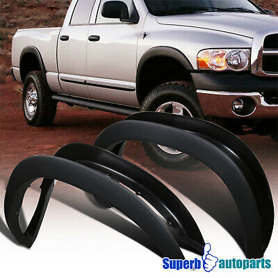 $72.98 • Buy For 2002-2008 Dodge Ram 1500 03-09 2500 3500 4 PCS Factory Style Fender Flares