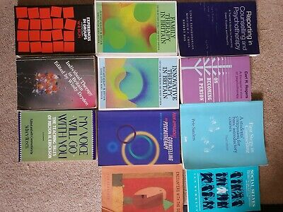 £50 • Buy Counselling /Psycotherapy Books Bundle