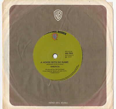 America - A Horse With No Name - 7  Single • 5.54£