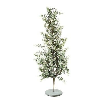 Artificial Green & White Berry Glitter Table Top Christmas Tree Decoration 80cm • 27.99£
