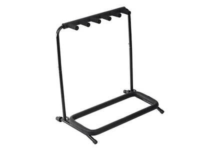 $ CDN41.70 • Buy Stage Right Multi Guitar Folding Stand For 5 Acoustic And Electric Guitars
