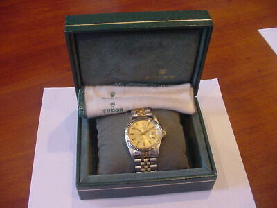 $ CDN5277.47 • Buy MINTY 1980 ROLEX 16013 14k GOLD SS MEN'S 36mm DATEJUST 2-tone BOX CLOTH NICE 1!