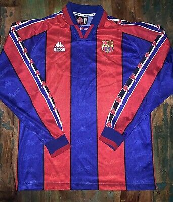 Barcelona 1995-97 Football Shirt (Home), X-Large, In Good Condition • 100£