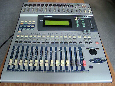 Yamaha 01V Digital Mixing Console 16 Channel (1 Channel Faulty) MY8-AT Card O1V • 150£