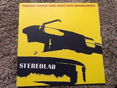 Stereolab - Transient Random-Noise Bursts With Announcements Vinyl • 19.99£
