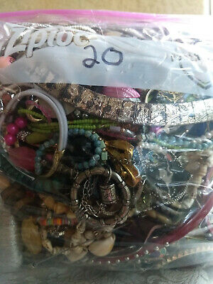 $ CDN25.95 • Buy Jewelry Lot!  6.52 Lbs Vintage To Now Costume Jewelry 99.9% Wearable