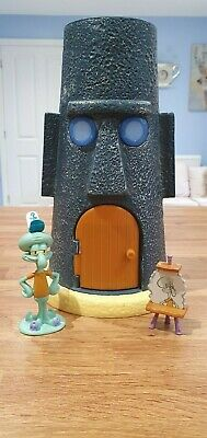 Squidward House And Figure, Used - Spongebob Square Pants • 26£