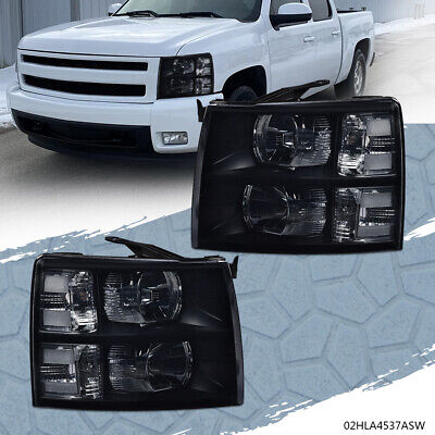 $90.02 • Buy For 2007-14 Chevy Silverado 1500 2500hd Clear Corner Headlight Replacement Lamp