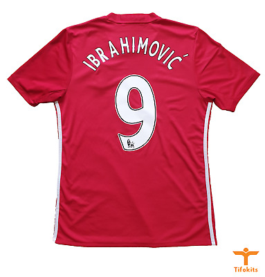 AU120 • Buy Zlatan Ibrahimovic Manchester United Jersey 2016/17 (Medium) #9