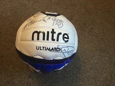Crystal Palace Signed Football Unwanted Gift 100% Genuine • 16.99£