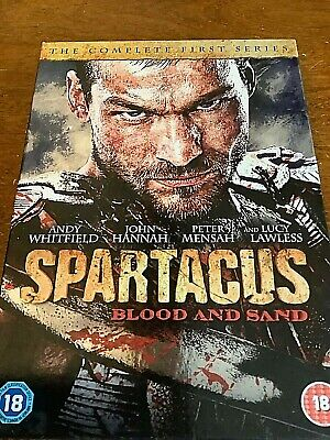 Spartacus - Blood And Sand - Series 1 (DVD, 2011, 4-Disc Set) • 1.99£