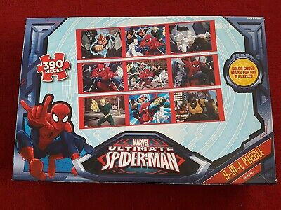 Marvel Ultimate  Spiderman Jigsaw Puzzzle  390 Pieces • 4.99£