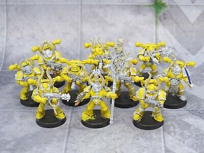 40k Chaos Space Marines CHAOS SQUAD 10 Figures CSM GW 75571 • 14.99£
